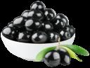 Черные оливки без фона