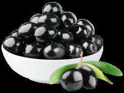 Черные оливки без фона - оливки, овощи