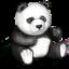 Иконка панда