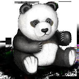 Иконка панда - панда