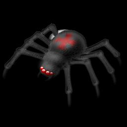 Иконка паук - паук