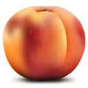 Иконка персик - фрукты, персик
