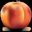 Иконка персик