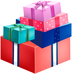 Подарочные коробки png - подарки, коробка, день рождения