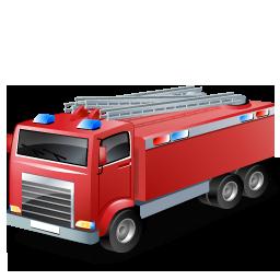 Иконка пожарная машина - пожарная машина, автомобили, авто