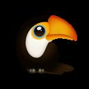 Иконка попугай