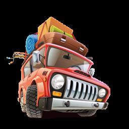 Путешествие на машине - туризм, путешествие, отдых, машина, багаж