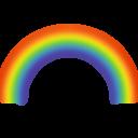 Иконка радуга - радуга