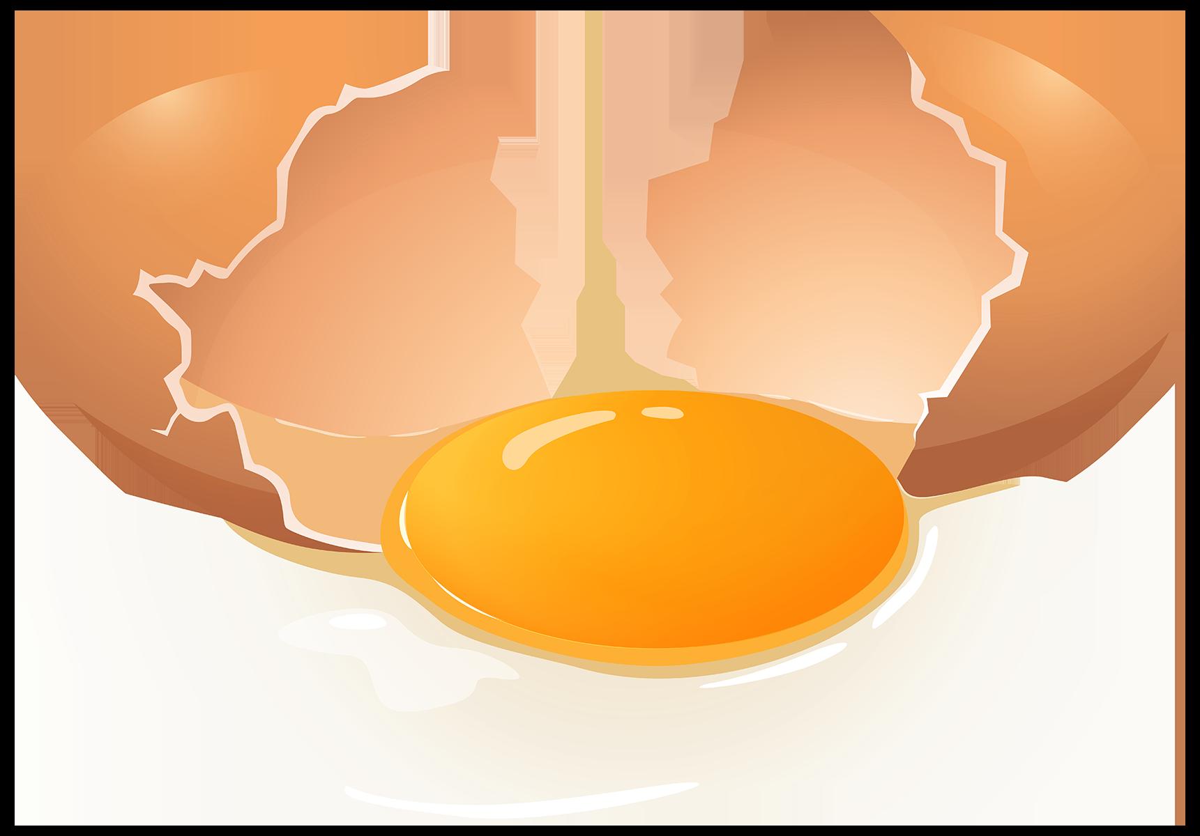 Разбитое яйцо - яйца, кулинария
