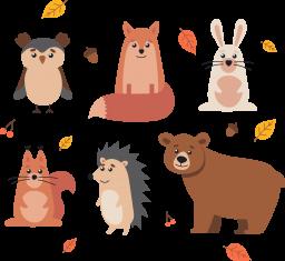 Рисованные животные - животные