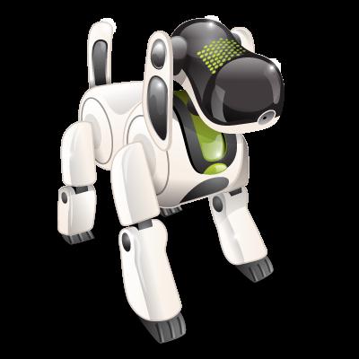 Иконка робот собака - собака, робот