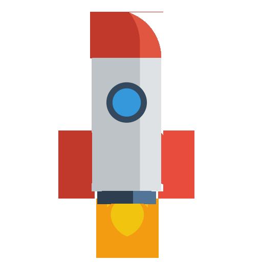 Иконка ракета - ракета