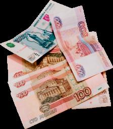 Российские рубли - рубли, российские рубли, купюры, деньги, бумажные деньги
