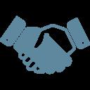 Иконка рукопожатие