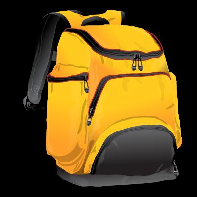 Иконка рюкзак - сумка, рюкзак