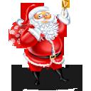 Иконка Санта Клаус - санта, новый год, дед мороз