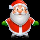 Иконка Санта - Дед Мороз - санта, новый год, дед мороз