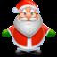 Иконка Санта — Дед Мороз