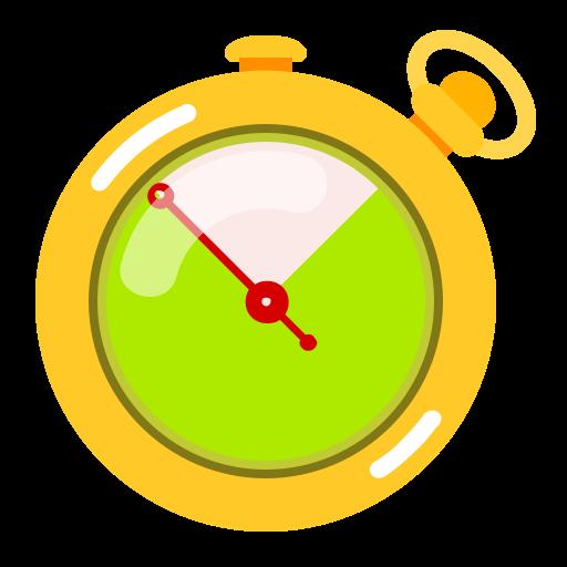 Иконка секундомер - секундомер, время