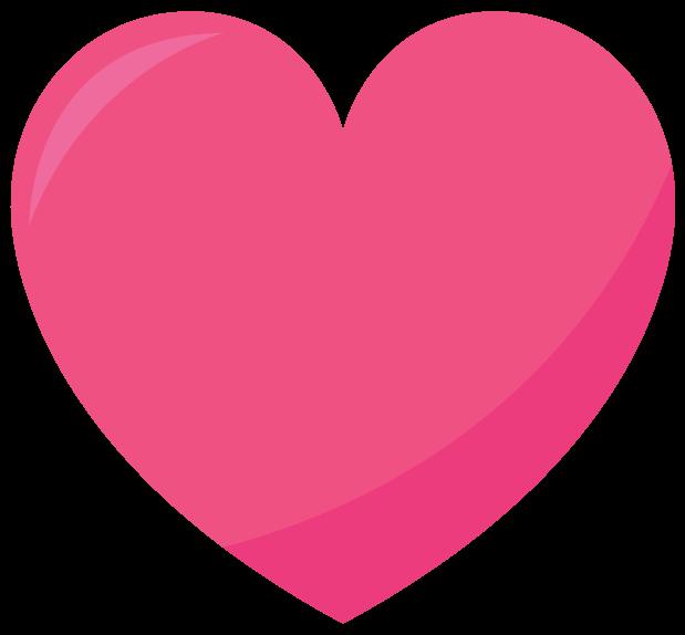 Розовое сердце - сердце, любовь, День святого Валентина