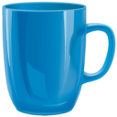 Синяя кружка