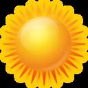 Иконка солнце