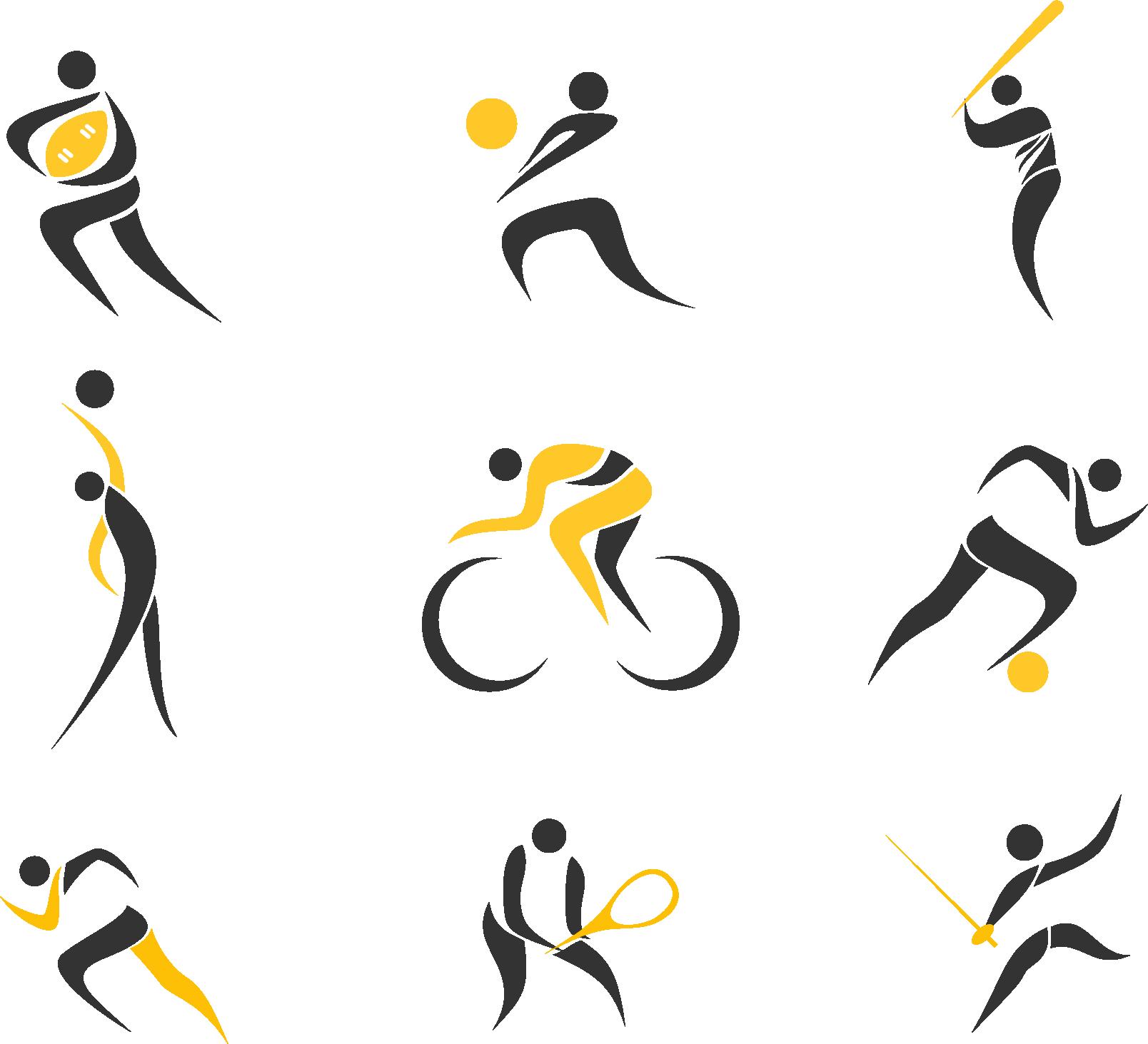 Спортивные логотипы - спорт, логотип