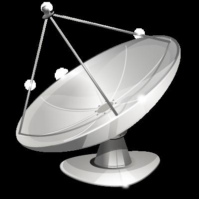 Иконка спутниковая антенна - антенна