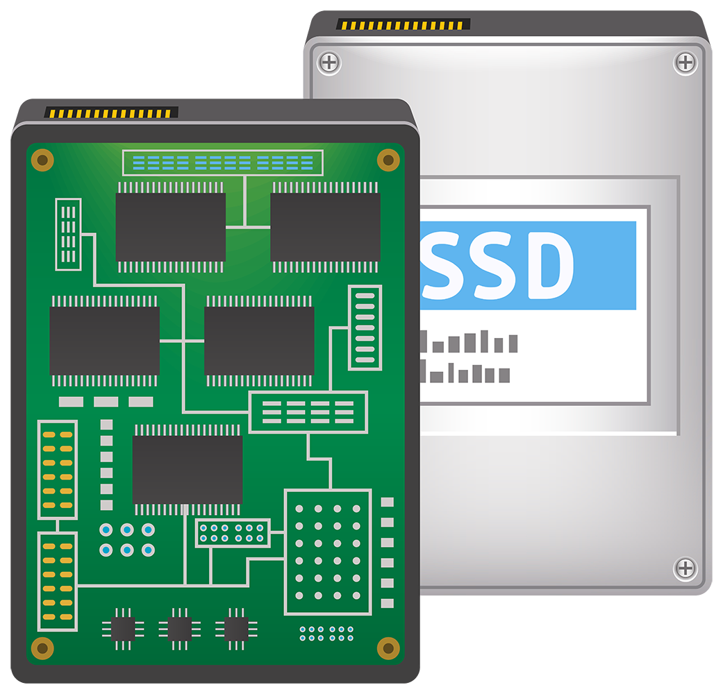 Картинка ssd диск - комплектующие, ssd