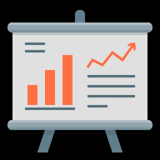 Иконка статистика / аналитика - статистика, бизнес, аналитика
