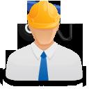 Иконка строитель
