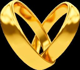 Свадебные кольца - свадьба, обручальные кольца, кольца, золото