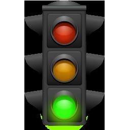 Иконка светофор - светофор