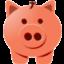 Иконка свинья