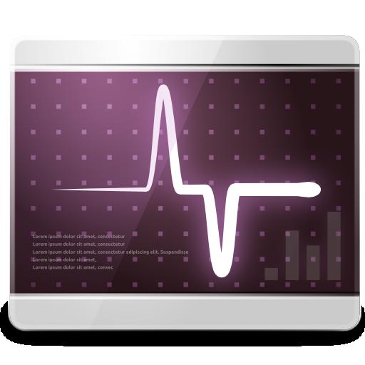 Иконка системный монитор - монитор