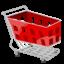 Иконка магазинная тележка
