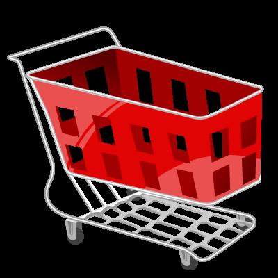 Иконка магазинная тележка - тележка, магазин