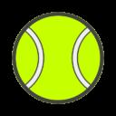 Иконка теннисный мяч - теннис, мяч