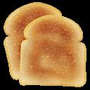 Иконка тосты - хлеб, тосты