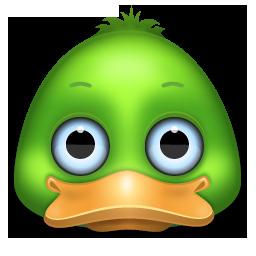 Иконка утка - утка