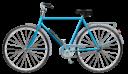Велосипед на прозрачном фоне