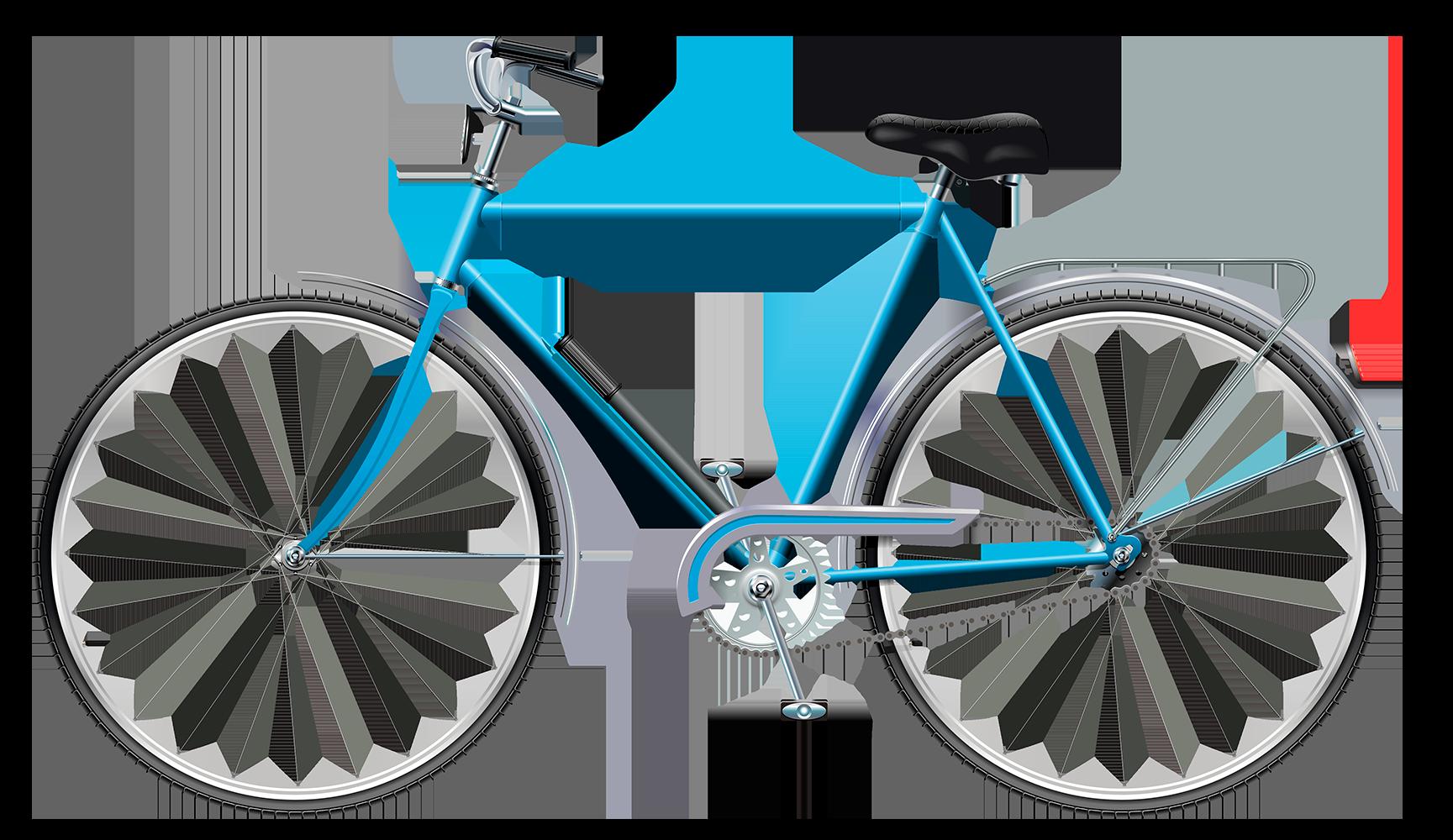 Велосипед на прозрачном фоне - транспорт, велосипед