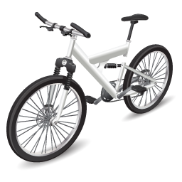 Иконка велосипед - велосипед