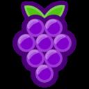 Иконка виноград - ягоды, виноград