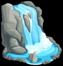 Водопад - природа, водопад