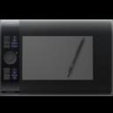 Иконка планшет Wacom - рисование, планшет, Wacom