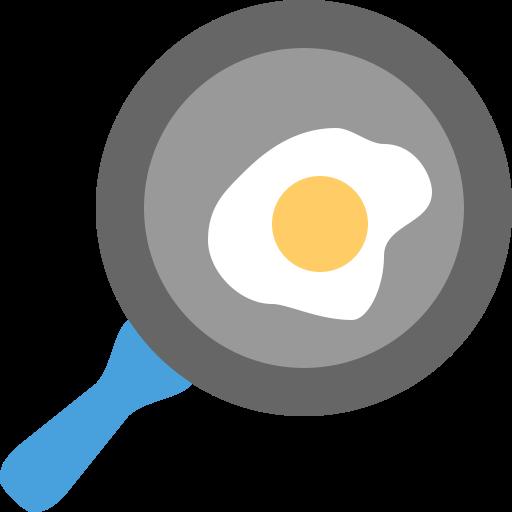 Иконка яичница - яичница