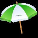 Иконка пляжный зонт